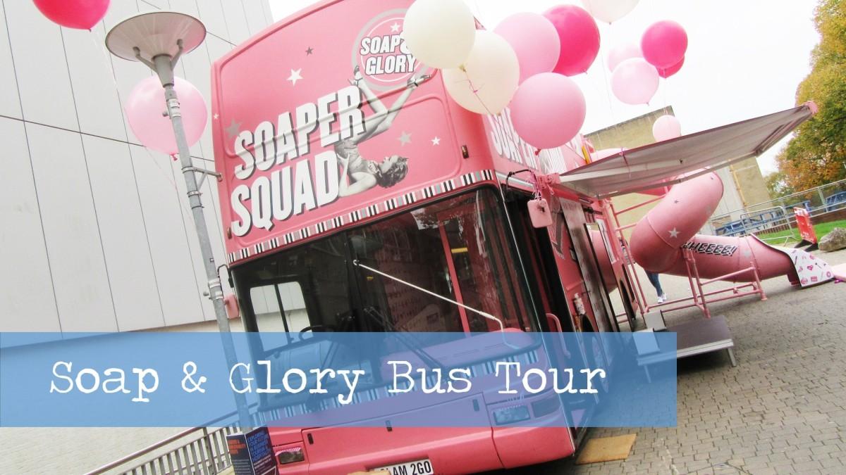 Soap & Glory Bubble Decker Bus Tour