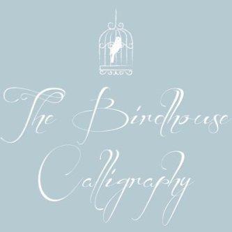 Birdhouse Calligraphy