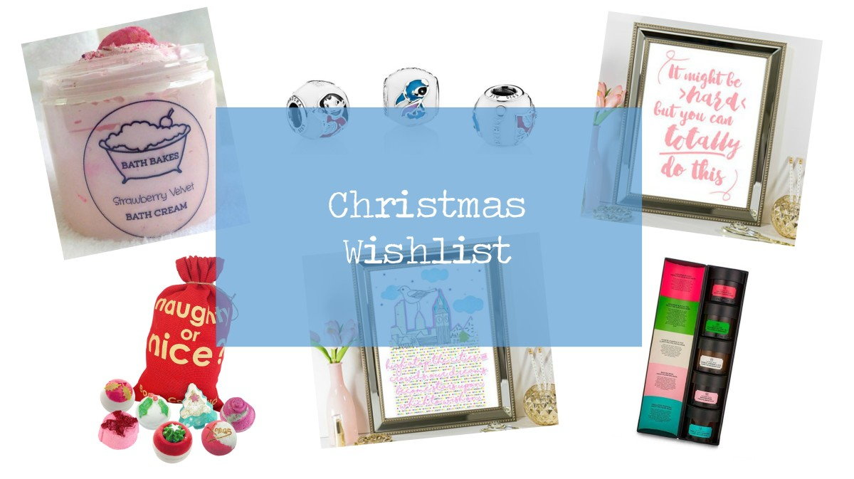 Blogmas Day 4 // Christmas Wishlist