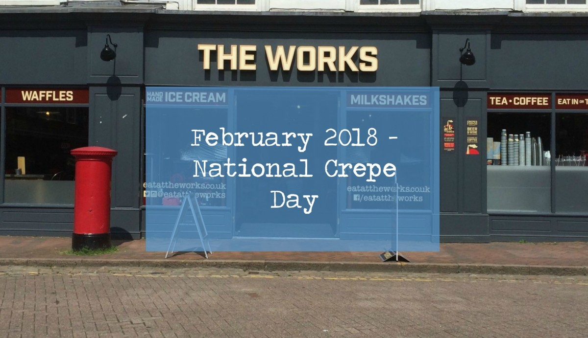 February 2018 - National Crepe Day