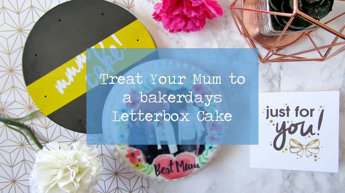 Treat Your Mum to a bakerdays Letterbox Cake