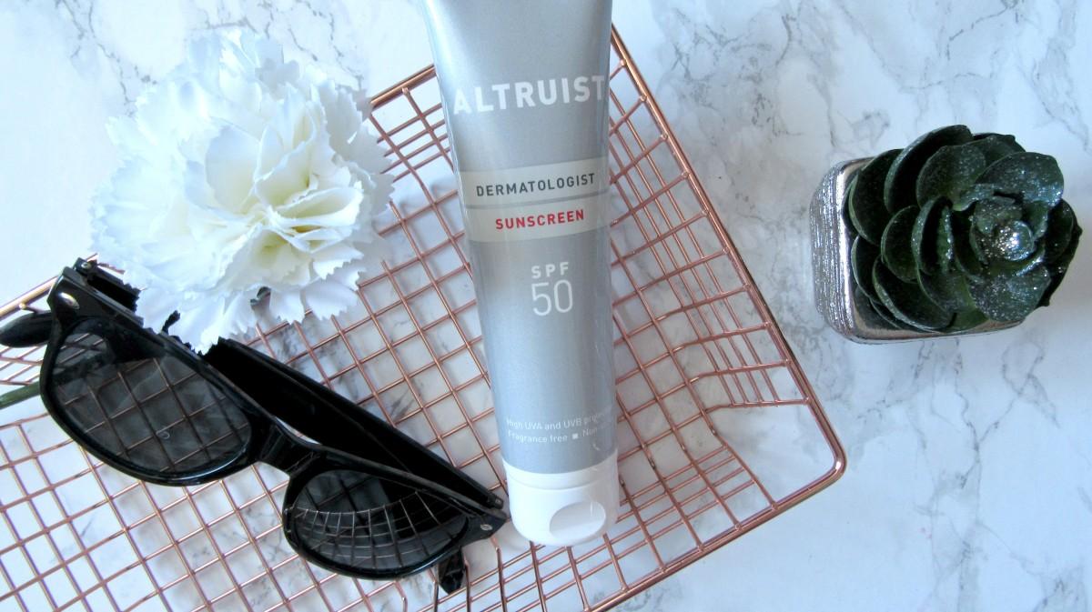 Altruist Dermatologist Sunscreen