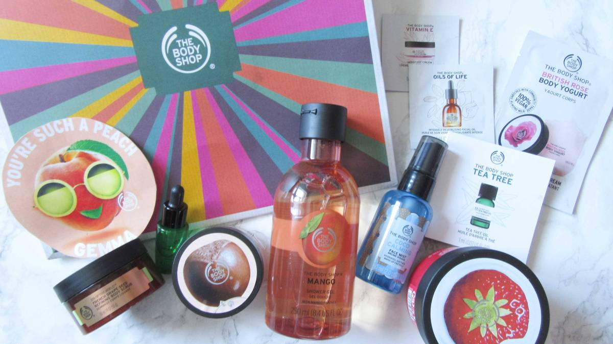 Collection of Goodies from The Body Shop