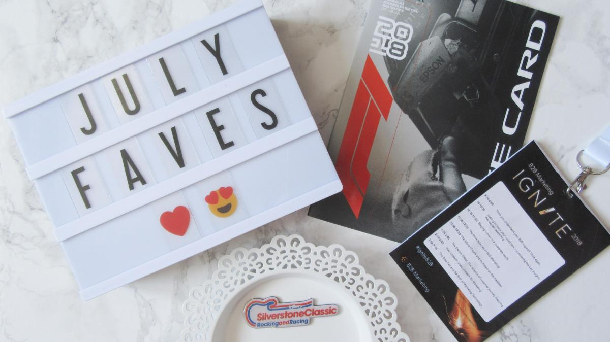 Monthly Favourites // July 2018