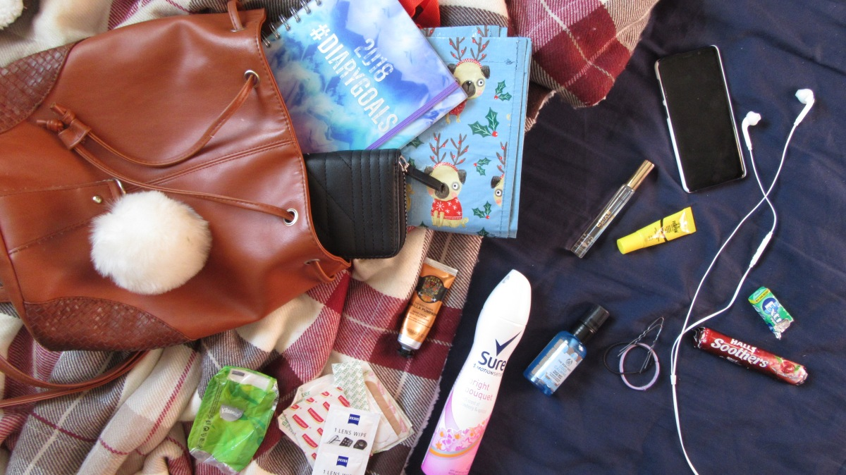What's in my backpack // Autumn Edition