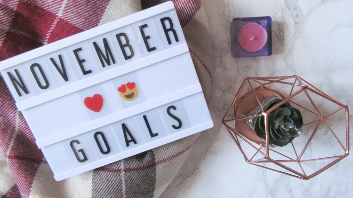 Monthly Goals // November 2018