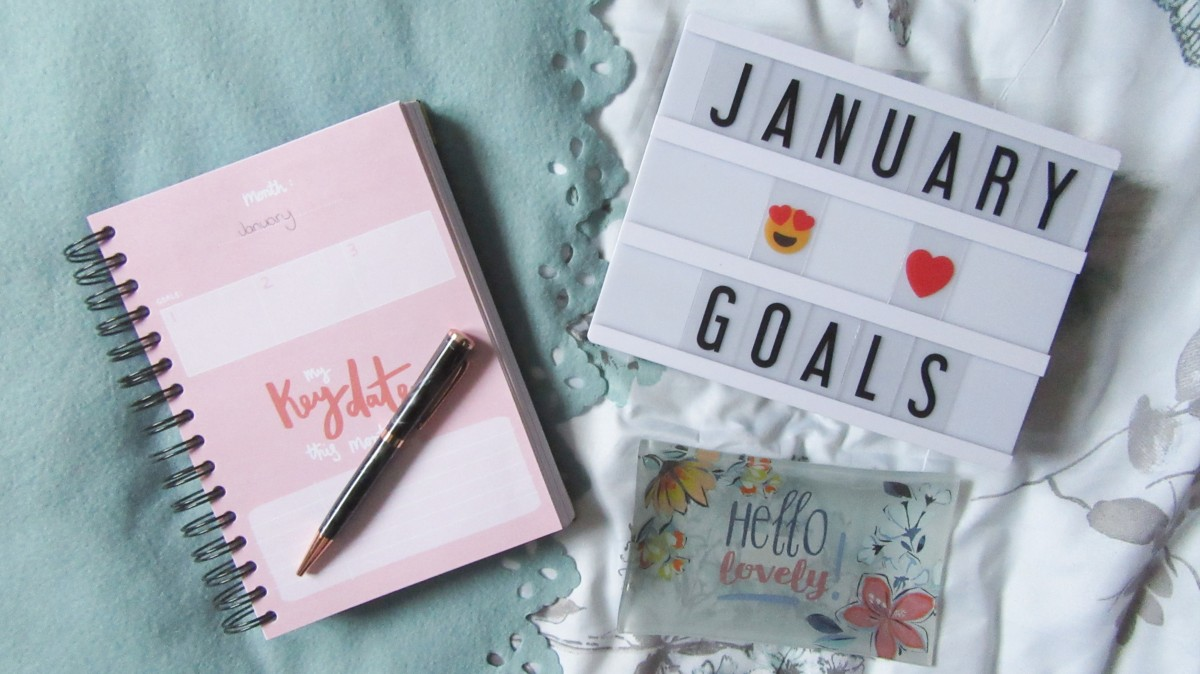 Monthly Goals // January 2019