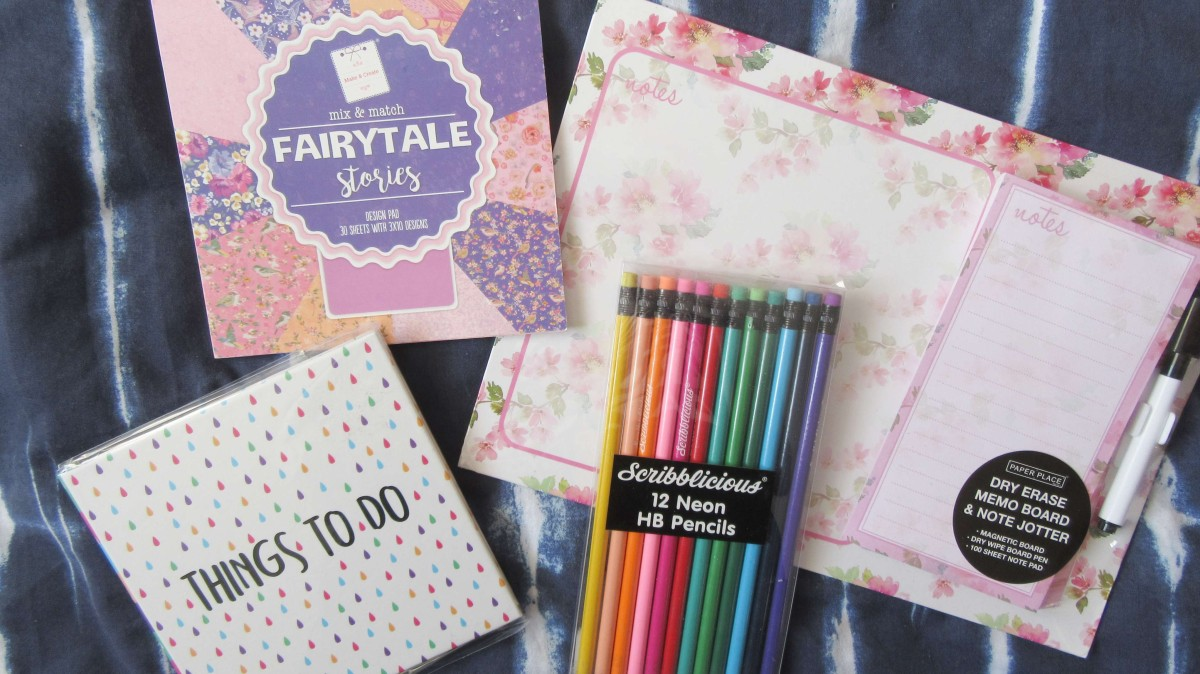 Stationery Haul // April 2019