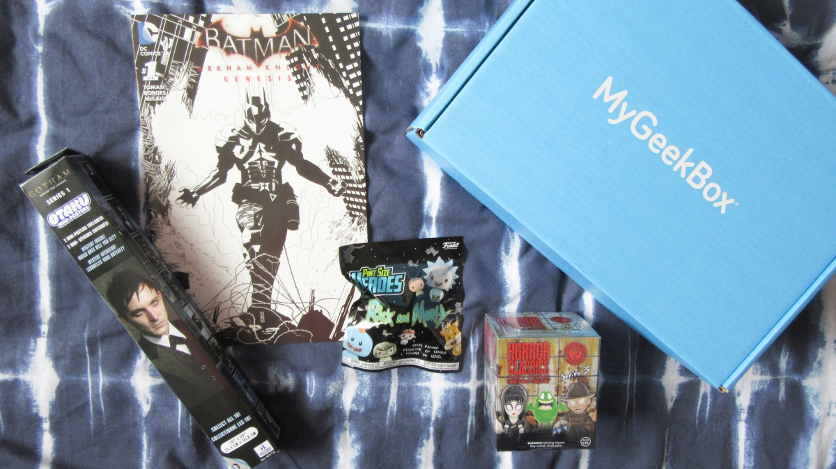 MyGeekBox MCM Comic Con Exclusive